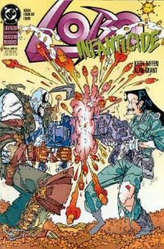 Cover of Lobo: Infanticide (1992 Ltd) #4. One of 250,000 Vintage American Comics on sale from Krypton!