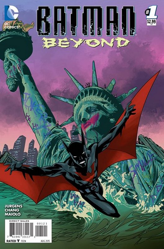 Cover of Batman Beyond (Vol 3) #1. One of 250,000 Vintage American Comics on sale from Krypton!