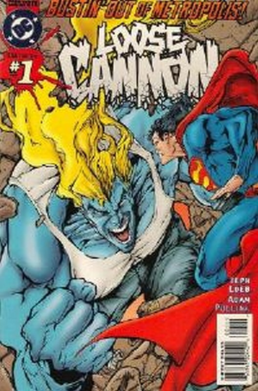 Cover of Loose Cannon (1995 Ltd) #1. One of 250,000 Vintage American Comics on sale from Krypton!