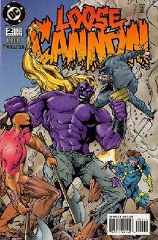 Cover of Loose Cannon (1995 Ltd) #2. One of 250,000 Vintage American Comics on sale from Krypton!