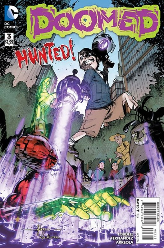 Cover of Doomed (Vol 1) #3. One of 250,000 Vintage American Comics on sale from Krypton!
