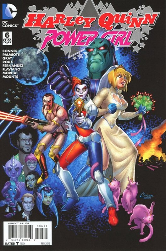 Cover of Harley Quinn & Power Girl (2015 Ltd) #6. One of 250,000 Vintage American Comics on sale from Krypton!