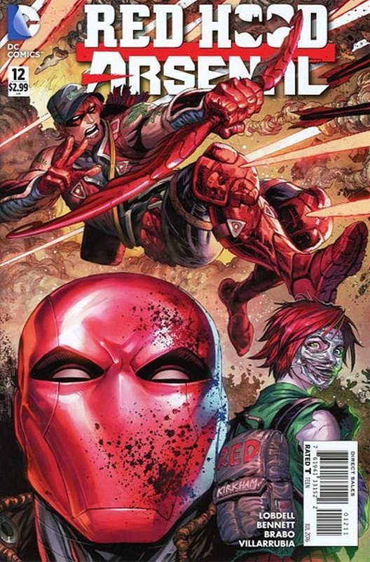 Cover of Red Hood: Arsenal (Vol 1) #12. One of 250,000 Vintage American Comics on sale from Krypton!