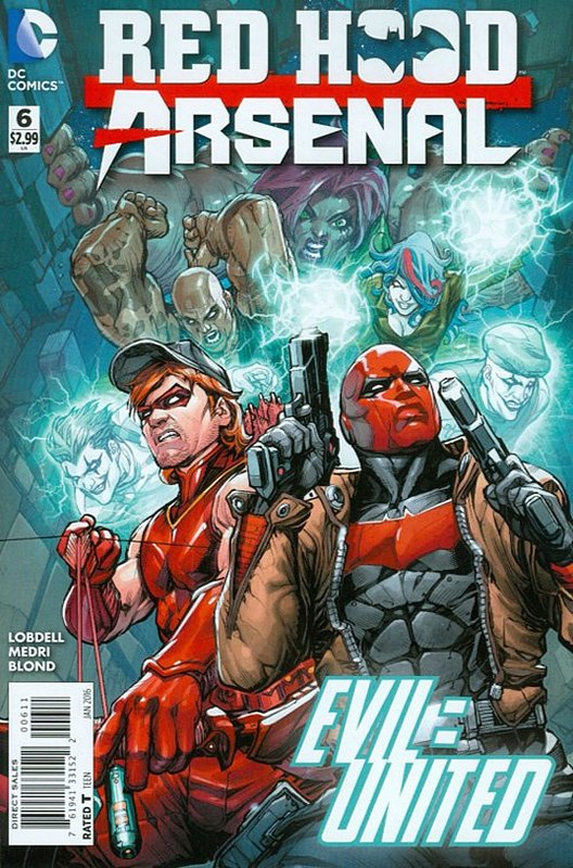 Cover of Red Hood: Arsenal (Vol 1) #6. One of 250,000 Vintage American Comics on sale from Krypton!