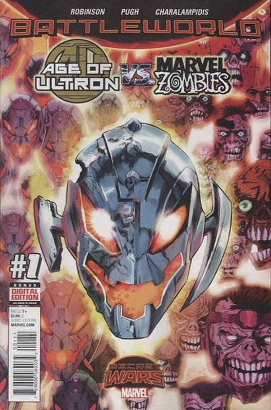 Cover of Age of Ultron vs Marvel Zombies (2015 Ltd) #1. One of 250,000 Vintage American Comics on sale from Krypton!