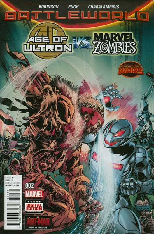 Cover of Age of Ultron vs Marvel Zombies (2015 Ltd) #2. One of 250,000 Vintage American Comics on sale from Krypton!