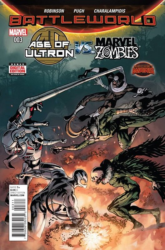 Cover of Age of Ultron vs Marvel Zombies (2015 Ltd) #3. One of 250,000 Vintage American Comics on sale from Krypton!