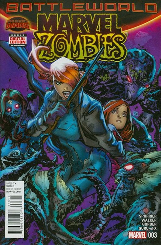 Cover of Marvel Zombies (2015 Ltd) #3. One of 250,000 Vintage American Comics on sale from Krypton!