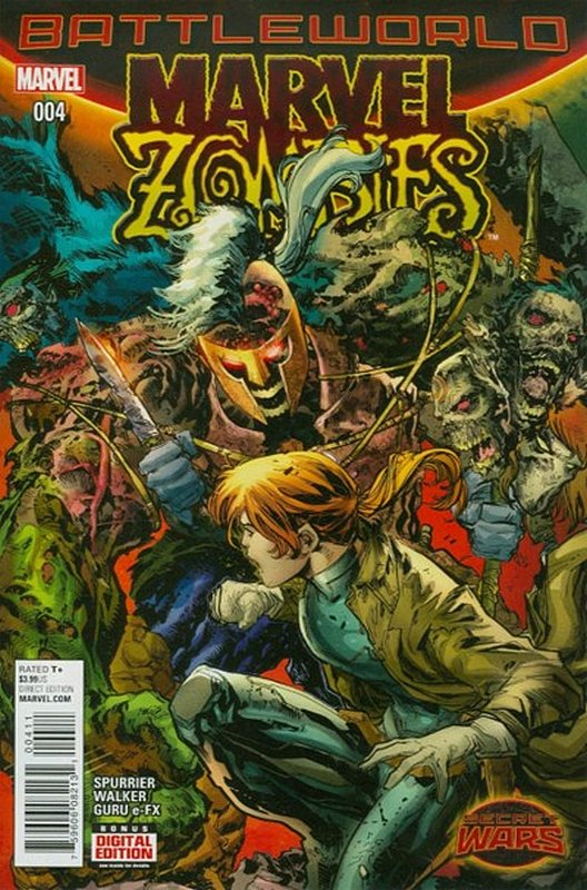 Cover of Marvel Zombies (2015 Ltd) #4. One of 250,000 Vintage American Comics on sale from Krypton!