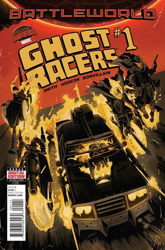 Cover of Ghost Racers (Vol 1) #1. One of 250,000 Vintage American Comics on sale from Krypton!