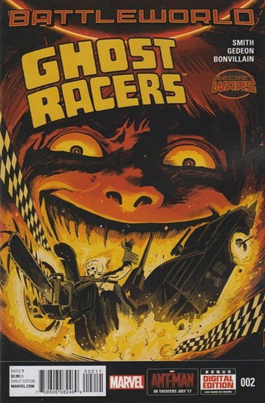 Cover of Ghost Racers (Vol 1) #2. One of 250,000 Vintage American Comics on sale from Krypton!