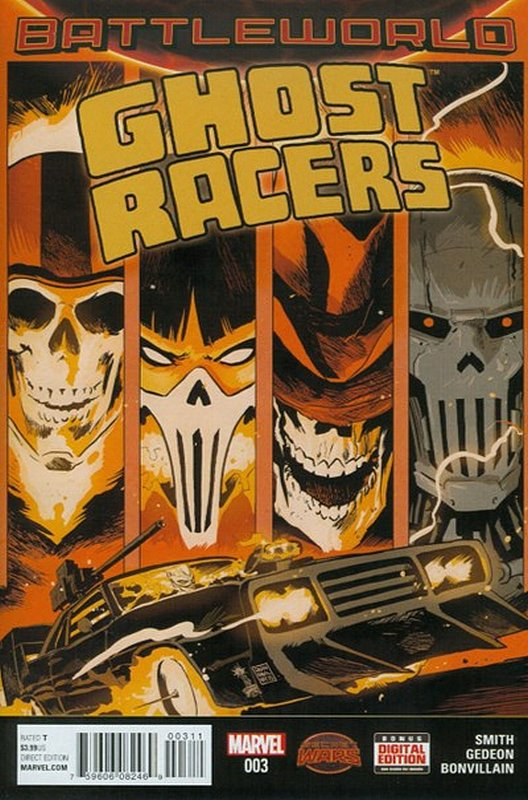Cover of Ghost Racers (Vol 1) #3. One of 250,000 Vintage American Comics on sale from Krypton!