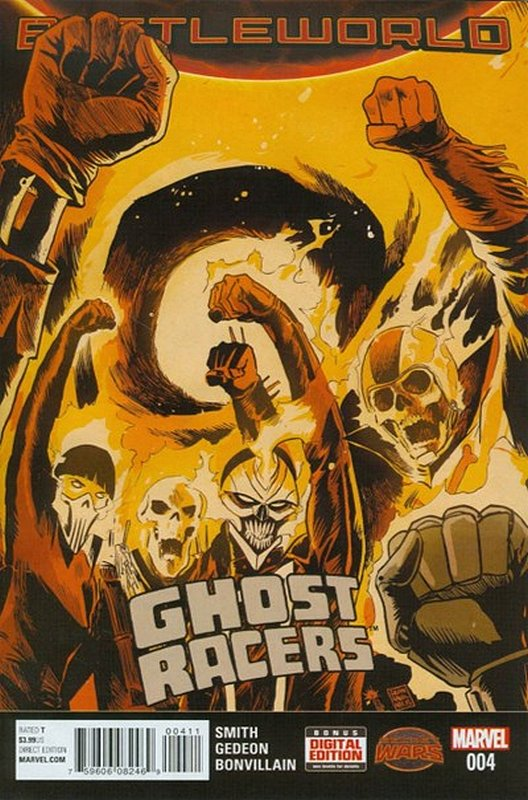 Cover of Ghost Racers (Vol 1) #4. One of 250,000 Vintage American Comics on sale from Krypton!