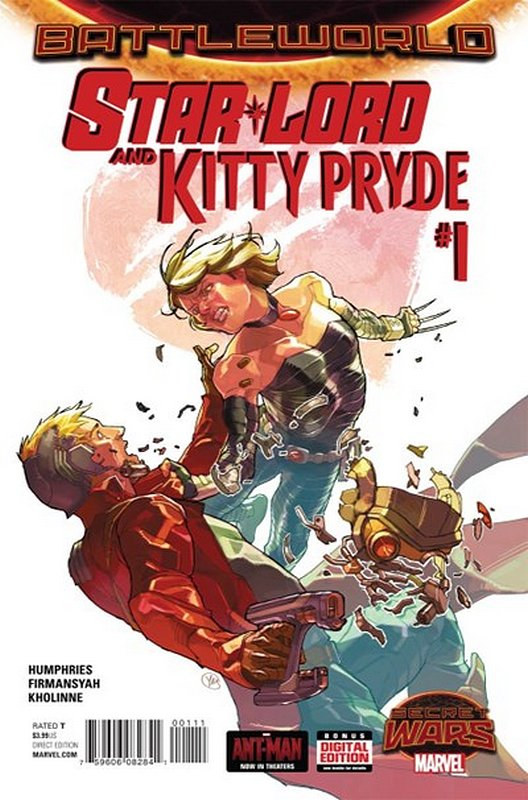 Cover of Starlord & Kitty Pryde (2015 Ltd) #1. One of 250,000 Vintage American Comics on sale from Krypton!
