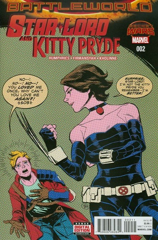 Cover of Starlord & Kitty Pryde (2015 Ltd) #2. One of 250,000 Vintage American Comics on sale from Krypton!