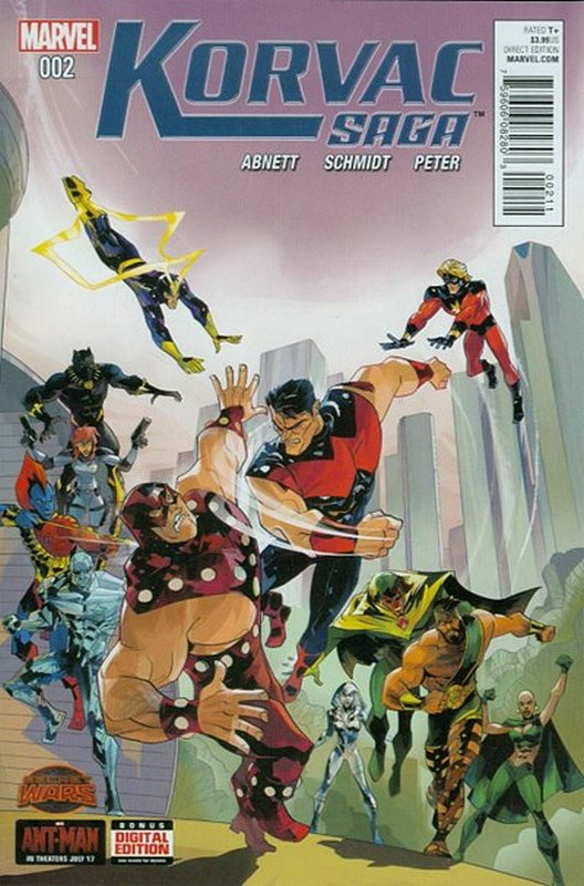 Cover of Korvac Saga (2015 Ltd) #2. One of 250,000 Vintage American Comics on sale from Krypton!