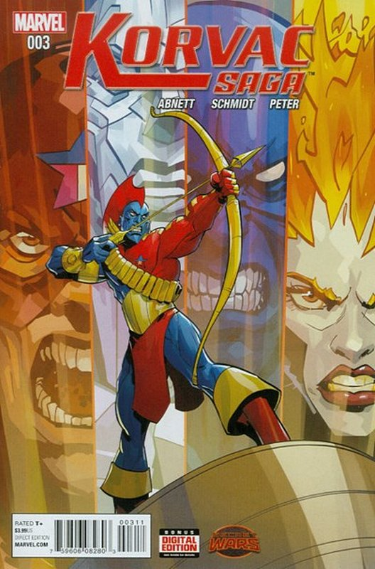Cover of Korvac Saga (2015 Ltd) #3. One of 250,000 Vintage American Comics on sale from Krypton!