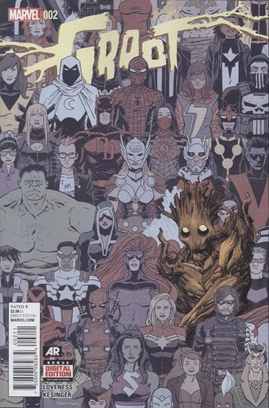 Cover of Groot (Vol 1) #2. One of 250,000 Vintage American Comics on sale from Krypton!