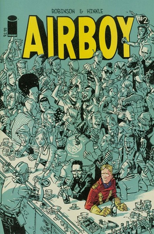 Cover of Airboy (2015 Ltd) #2. One of 250,000 Vintage American Comics on sale from Krypton!