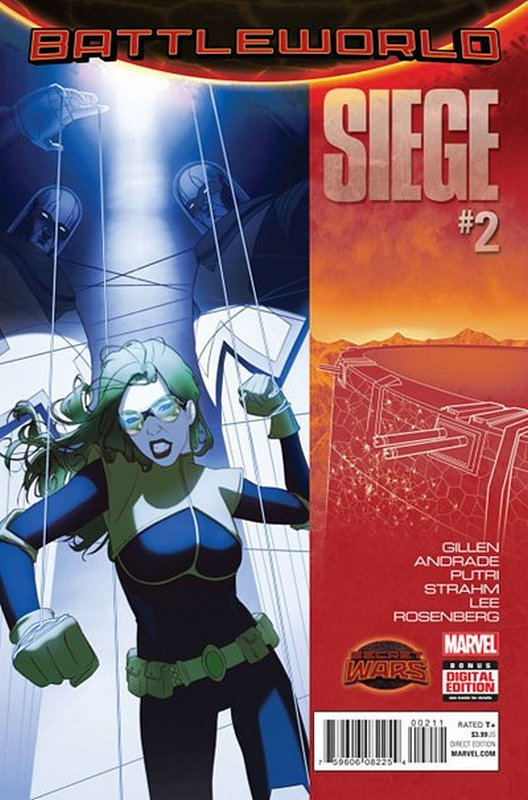 Cover of Siege (2015 Ltd) #2. One of 250,000 Vintage American Comics on sale from Krypton!