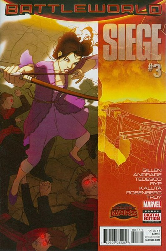 Cover of Siege (2015 Ltd) #3. One of 250,000 Vintage American Comics on sale from Krypton!