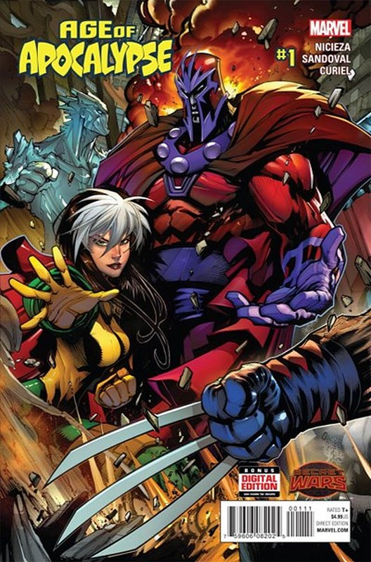 Cover of Age of Apocalypse (2015 Ltd) #1. One of 250,000 Vintage American Comics on sale from Krypton!