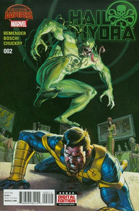 Cover of Hail Hydra (2015 Ltd) #2. One of 250,000 Vintage American Comics on sale from Krypton!