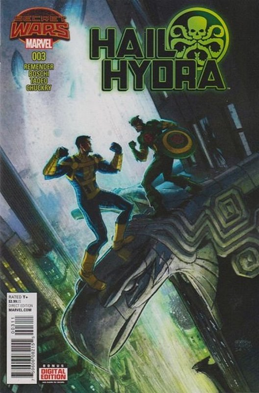 Cover of Hail Hydra (2015 Ltd) #3. One of 250,000 Vintage American Comics on sale from Krypton!