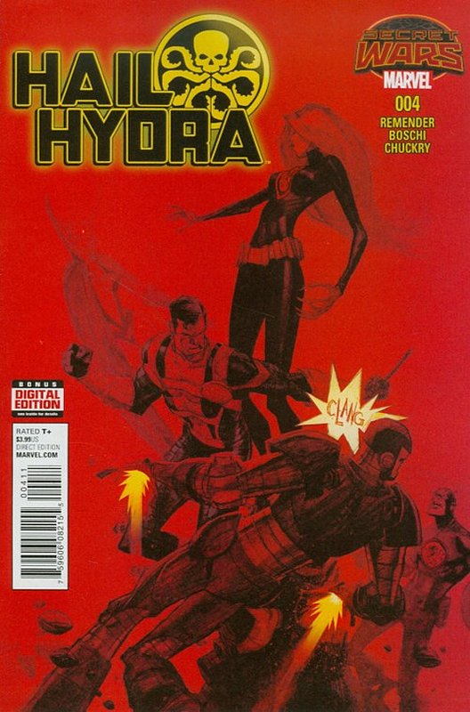 Cover of Hail Hydra (2015 Ltd) #4. One of 250,000 Vintage American Comics on sale from Krypton!