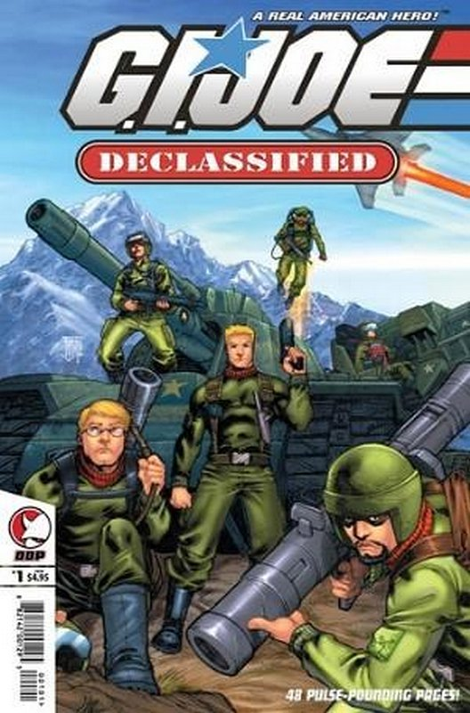 Cover of GI Joe: Declassified (2006 Ltd) #1. One of 250,000 Vintage American Comics on sale from Krypton!