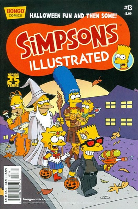 Cover of Simpsons Illustrated (Vol 2) #13. One of 250,000 Vintage American Comics on sale from Krypton!