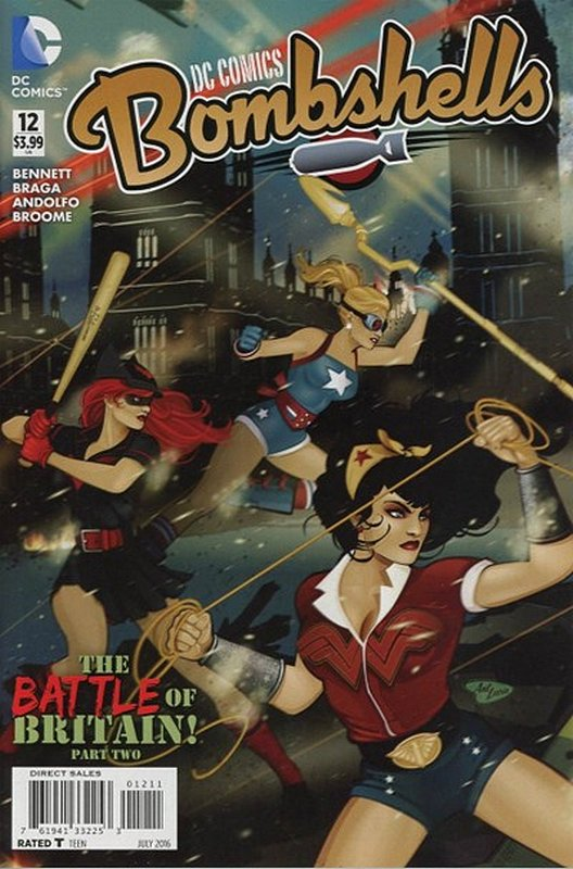 Cover of DC Comics: Bombshells (Vol 1) #12. One of 250,000 Vintage American Comics on sale from Krypton!