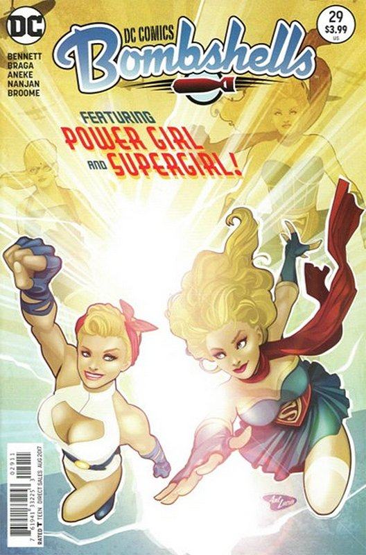 Cover of DC Comics: Bombshells (Vol 1) #29. One of 250,000 Vintage American Comics on sale from Krypton!