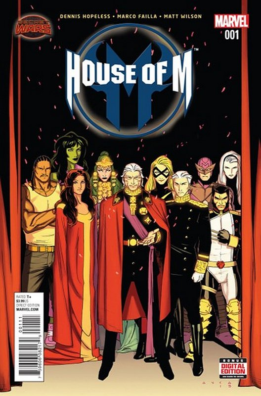 Cover of House of M (2015 Ltd) #1. One of 250,000 Vintage American Comics on sale from Krypton!