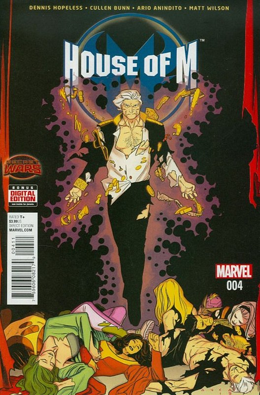 Cover of House of M (2015 Ltd) #4. One of 250,000 Vintage American Comics on sale from Krypton!