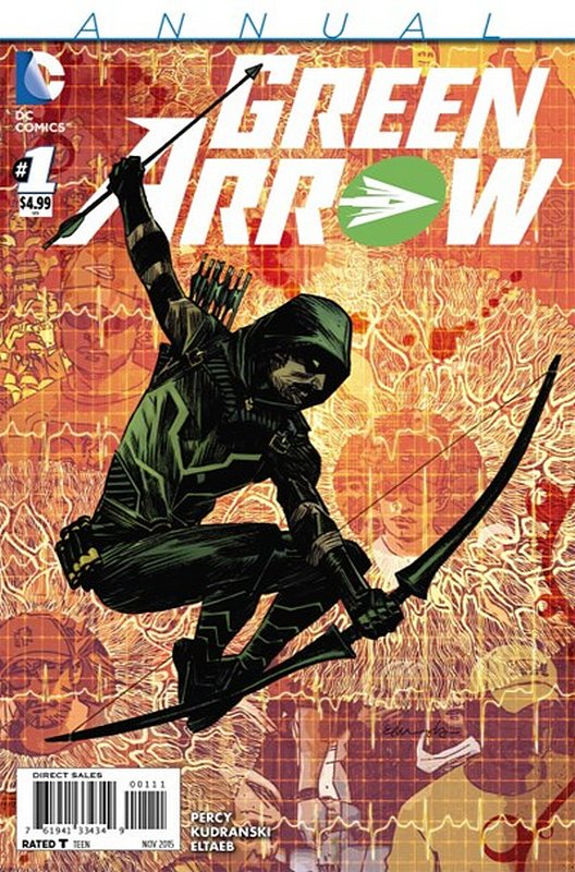Cover of Green Arrow Annual (2015) #1. One of 250,000 Vintage American Comics on sale from Krypton!