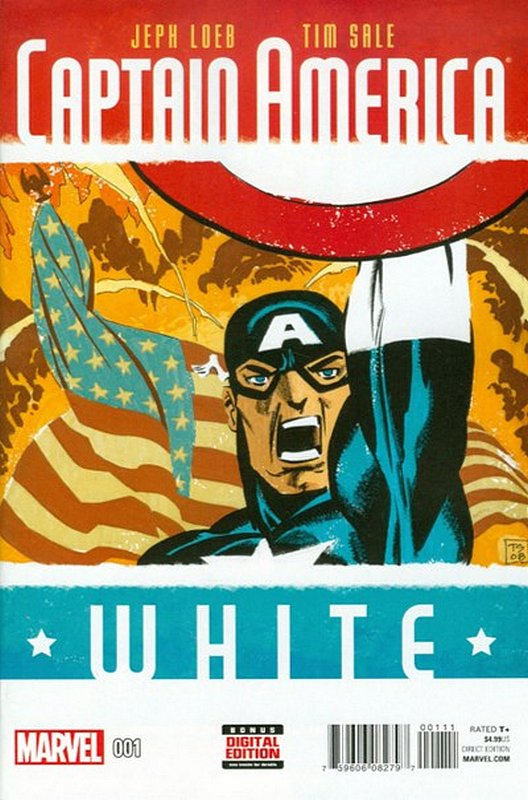 Cover of Captain America: White (2015 Ltd) #1. One of 250,000 Vintage American Comics on sale from Krypton!