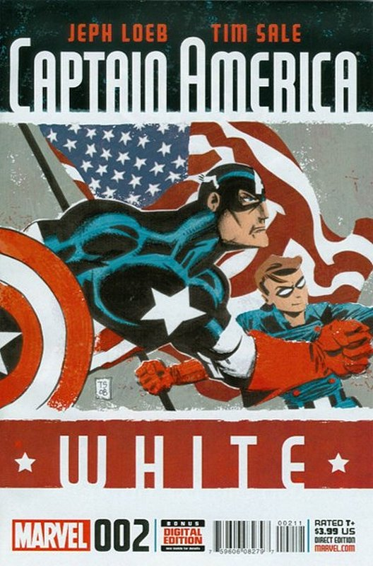 Cover of Captain America: White (2015 Ltd) #2. One of 250,000 Vintage American Comics on sale from Krypton!
