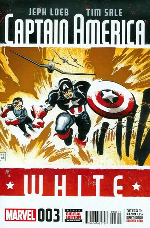 Cover of Captain America: White (2015 Ltd) #3. One of 250,000 Vintage American Comics on sale from Krypton!