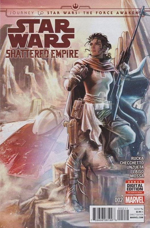 Cover of Star Wars: Journey to Shattered Empire (2015 Ltd) #2. One of 250,000 Vintage American Comics on sale from Krypton!
