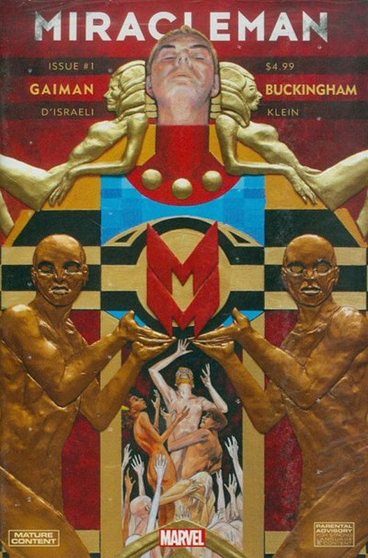 Cover of Miracleman: By Gaiman & Buckingham (Vol 1) #1. One of 250,000 Vintage American Comics on sale from Krypton!