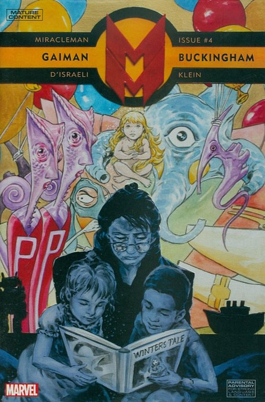 Cover of Miracleman: By Gaiman & Buckingham (Vol 1) #4. One of 250,000 Vintage American Comics on sale from Krypton!