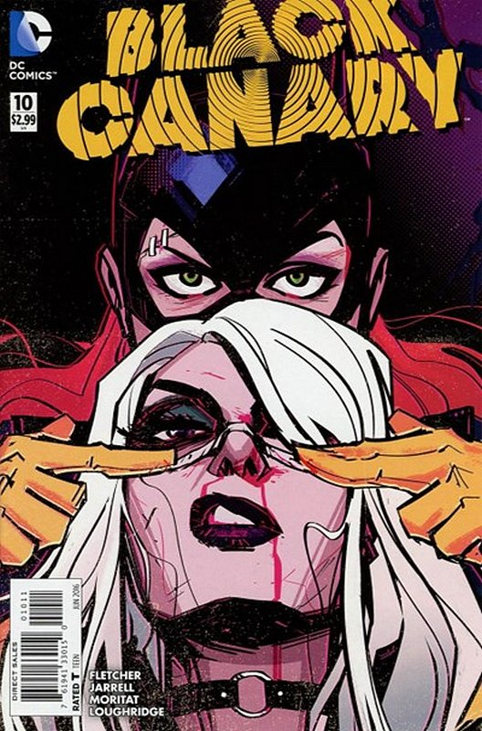 Cover of Black Canary (Vol 2) #10. One of 250,000 Vintage American Comics on sale from Krypton!