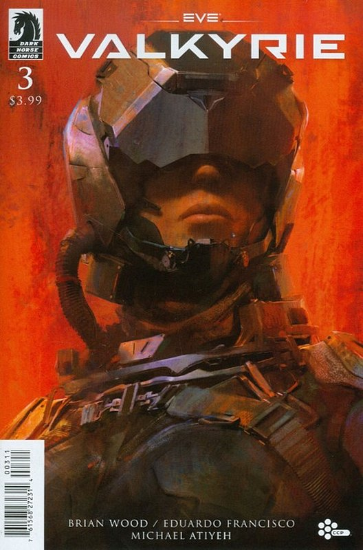 Cover of EVE: Valkyrie (2015 Ltd) #3. One of 250,000 Vintage American Comics on sale from Krypton!