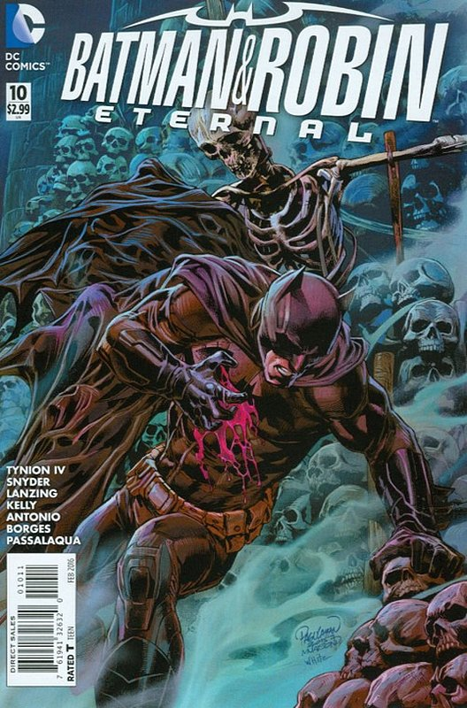 Cover of Batman and Robin Eternal (Vol 1) #10. One of 250,000 Vintage American Comics on sale from Krypton!
