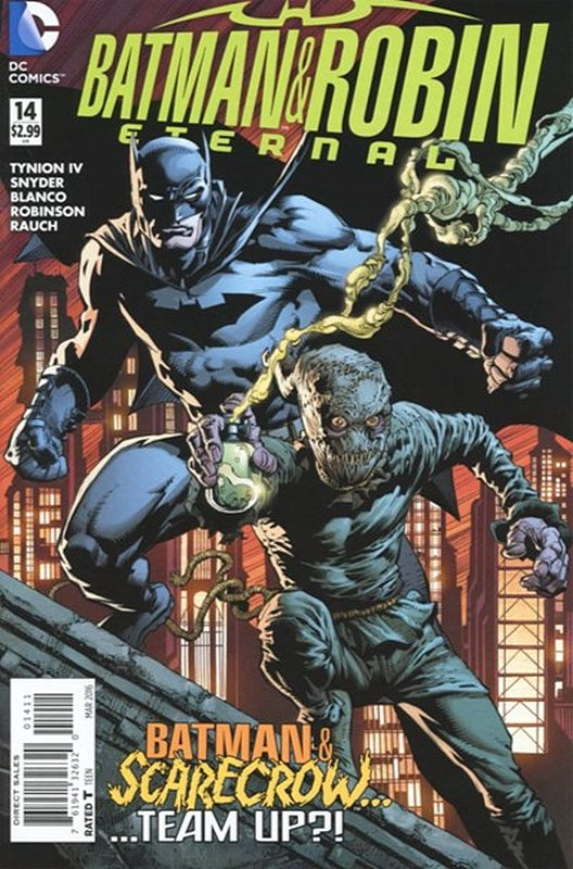 Cover of Batman and Robin Eternal (Vol 1) #14. One of 250,000 Vintage American Comics on sale from Krypton!