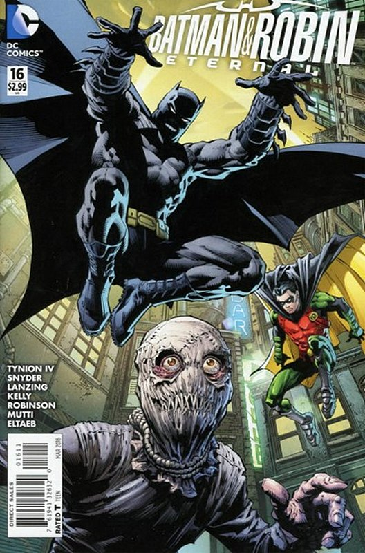 Cover of Batman and Robin Eternal (Vol 1) #16. One of 250,000 Vintage American Comics on sale from Krypton!