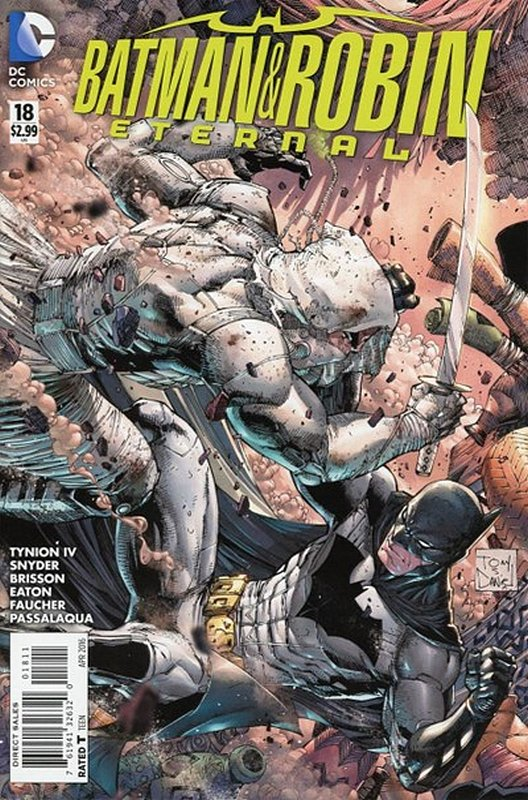Cover of Batman and Robin Eternal (Vol 1) #18. One of 250,000 Vintage American Comics on sale from Krypton!