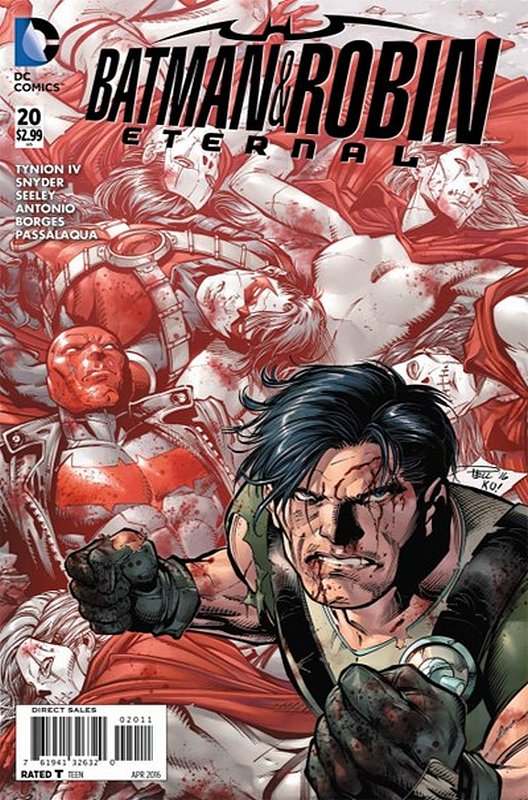 Cover of Batman and Robin Eternal (Vol 1) #20. One of 250,000 Vintage American Comics on sale from Krypton!