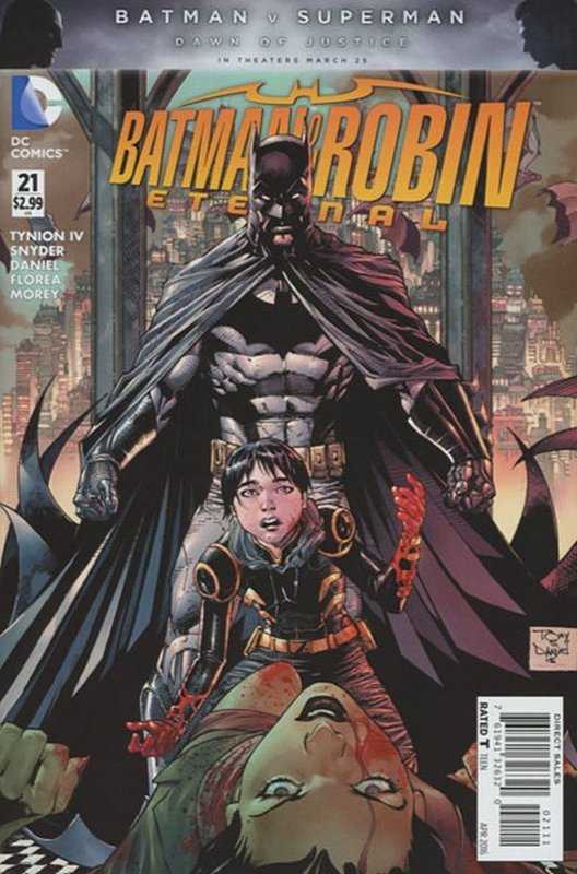 Cover of Batman and Robin Eternal (Vol 1) #21. One of 250,000 Vintage American Comics on sale from Krypton!